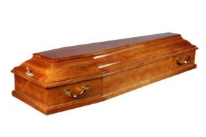 Деревянный гроб купить
