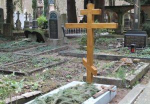 Где ставят крест на могиле