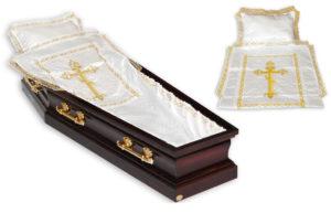 ритуальная постель в гроб