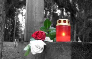 Посещение кладбища на Радоницу