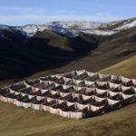 Небесное захоронение на Тибете