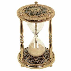 Песочные часы с прахом покойного
