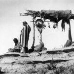 Похороны индейцев Сиу