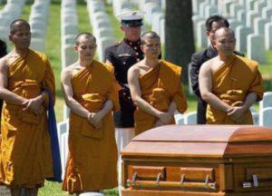 траур в буддизме