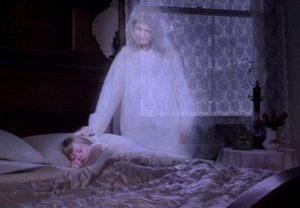 Душа умершего прощается с родными