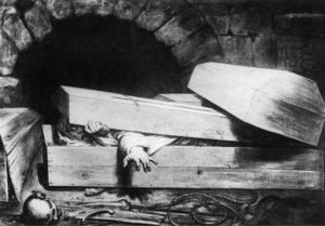 Мужчина ожил в гробу