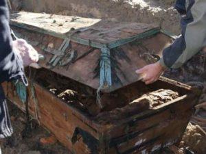 Перезахоронение останков с одного кладбища на другое