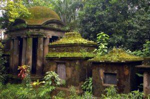 Старинное кладбище мира