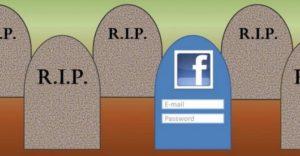 Ритуальная страничка в социальных сетях