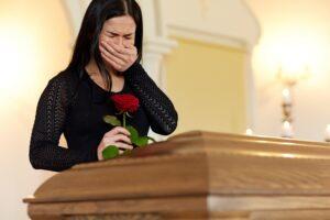 Молитва вдовы о покойном муже